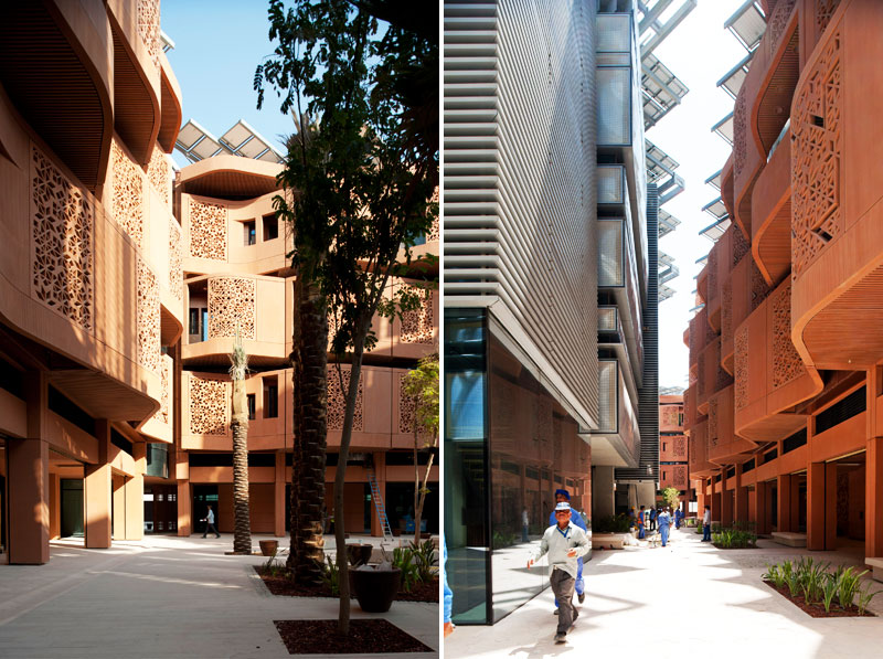 foster + partners, masdar, sustainable design, green design, green architecture, carbon neutral city, eco city, masdar institute