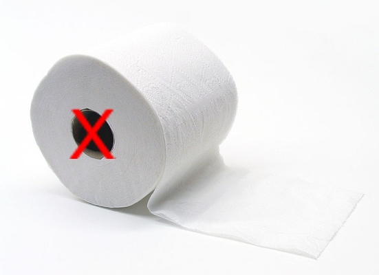 greenwash, green toilet paper, recycled toilet paper, tubeless TP, green wash, sustainable design, green design