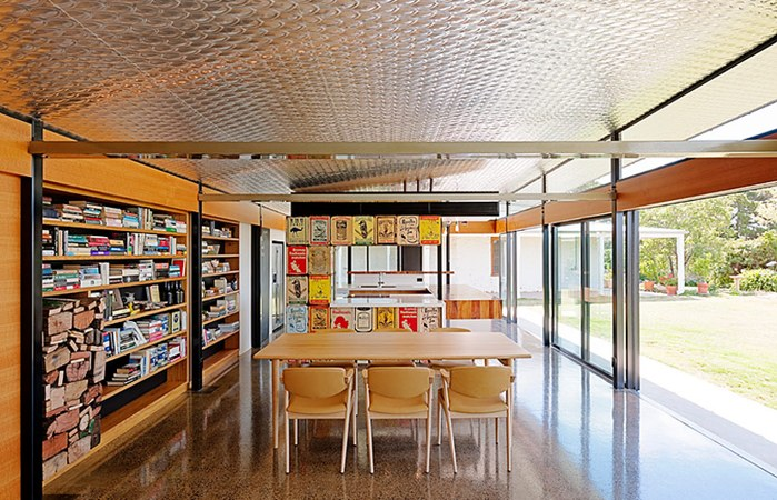 March Studios, Australian Remodel, Australian green home, adaptive reuse, passive solar, daylighting,