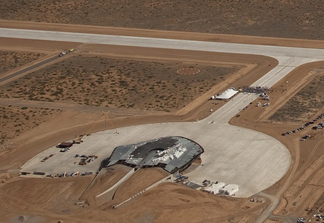 fosters + partners, LEED Spaceport, spaceport america, virgin galactic, LEED platinum, space transportation, new mexico space, Brandson space terminal,