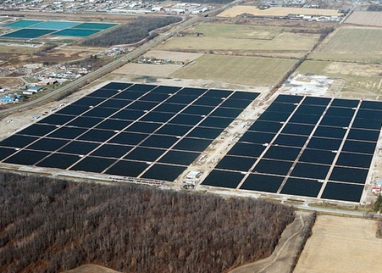 Sarnia solar project, enbridge, first solar, sarnia largest solar plant