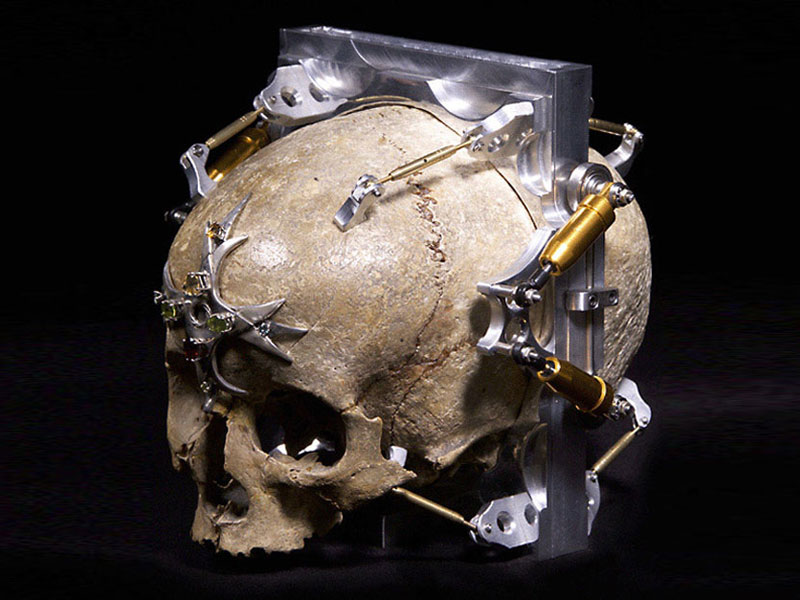 This Creepy Camera Is Made From A 150 Year Old Human Skull