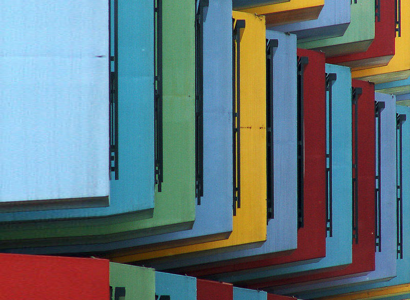 netherlands, utrecht university, shipping containers, shipping container dorm, dormitories, student housing, prefab, prefab housing, gree