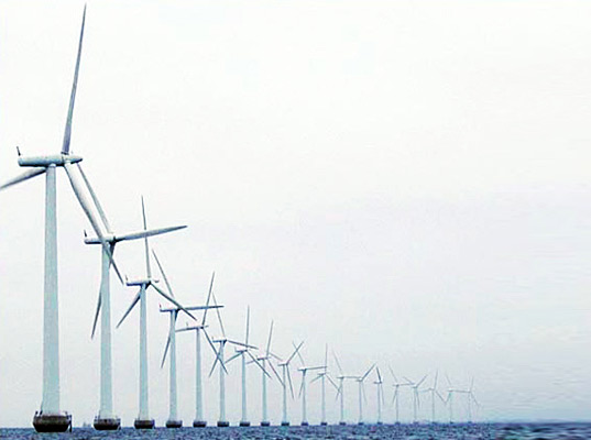 Offshore Wind Farm, lake erie, sustainable design, green design, renewable energy, wind power, wind turbine, clean tech, green power, google industries, east coast offshore wind