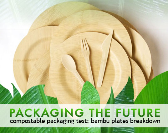 sustainable design, green design, packaging the future, biodegradable packaging, green packaging, composting test, green materials, bambu plates