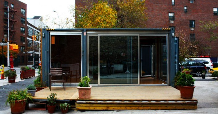 Meka shipping container prefab home nyc inhabitat green design innovation architecture - Meka shipping container homes ...