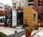 EXCLUSIVE PICS: Shipping Container Home Pops Up in NY