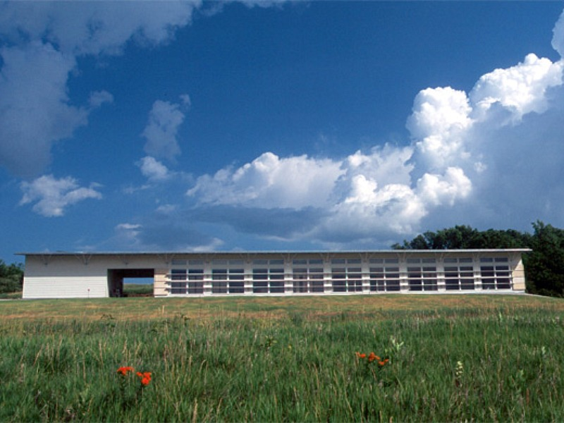 Kansas, Longhouse, green roof, rockhill and associates, green home, eco home