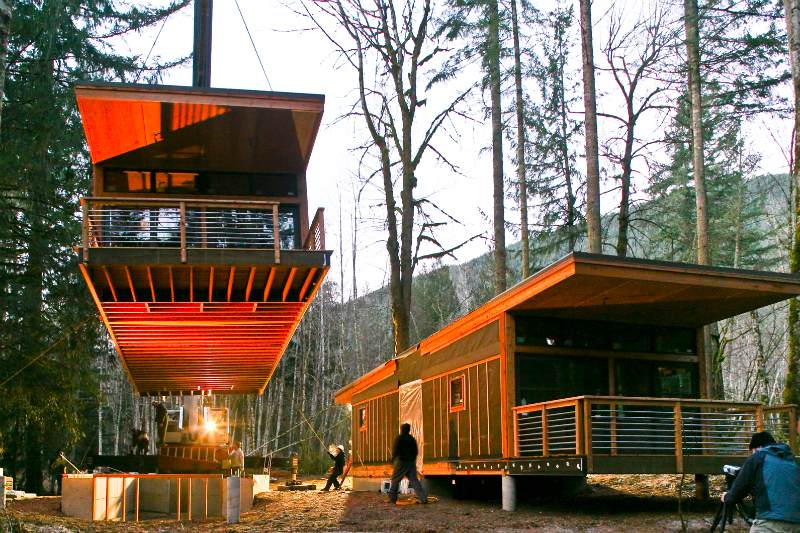 Method Homes Drops a New Prefab Home in Glacier, Washington | Inhabitat -  Green Design, Innovation, Architecture, Green Building