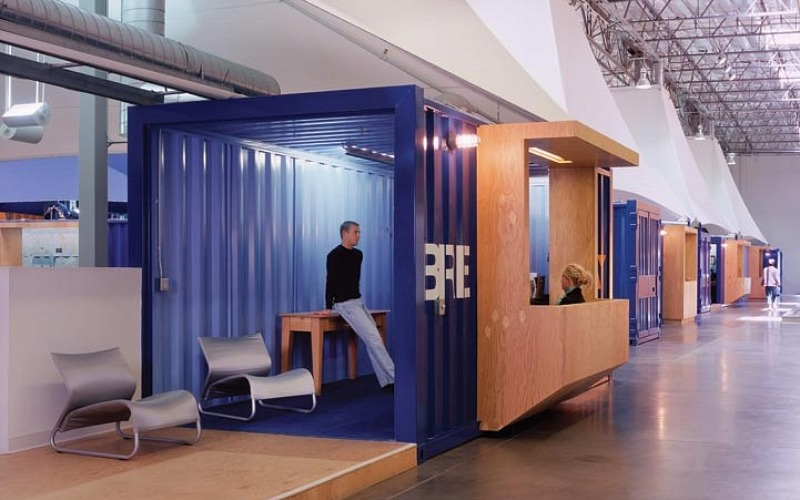 Container Office Design La Warehouse Office Is A Shipping Container City  Inhabitat .