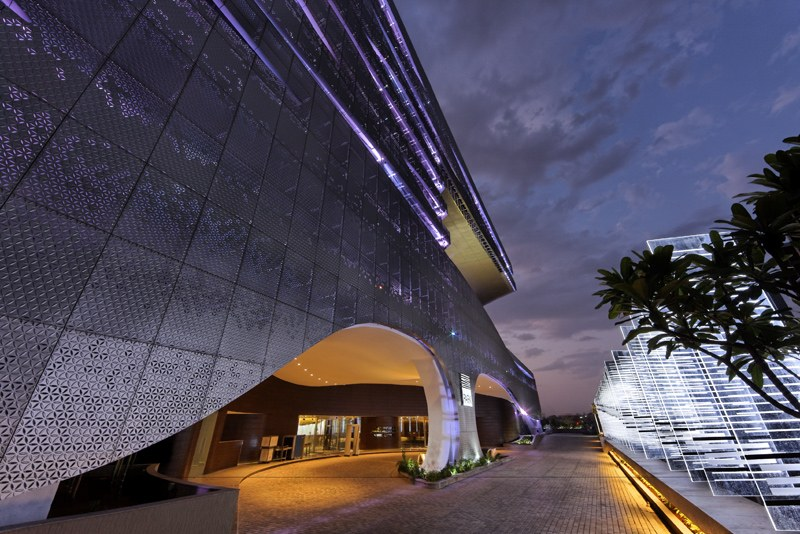 park hotel hyderabad, SOM, eco hotel, India, green building, sustainable architecture