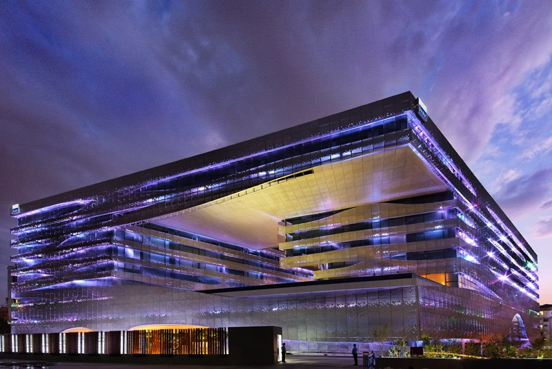 Som S Leed Gold Park Hotel Is A Modern Indian Palace