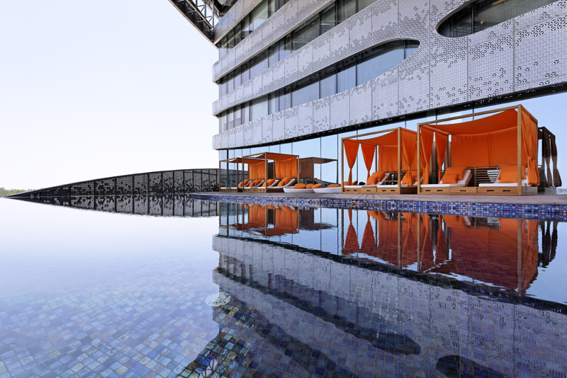 Som S Leed Gold Park Hotel Is A Modern Indian Palace Inhabitat Green Design Innovation Architecture Building