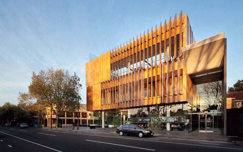 Australia 39 s surry hills library sets new standard for green design inhabitat green design - Small spaces surry hills decor ...