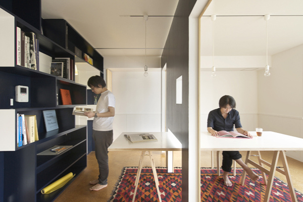 Dubbed Switch The Project Can Transform From An Office To A Home Simply By Sliding Wall