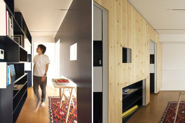 Sliding Walls Transform This Tokyo House Into An Office Inhabitat Green Design Innovation Architecture Building
