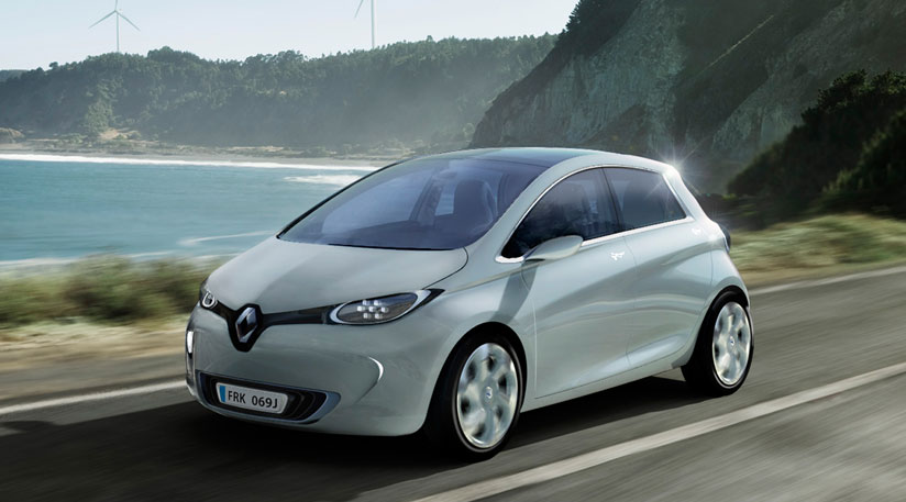 paris motor show, renault zoe, renault electric hatchback, electric hatchback zoe, renault zoe paris motor show, electric zoe, renault zoe performance