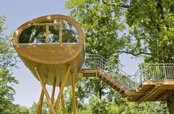 Baumraum World Of Living Treehouse