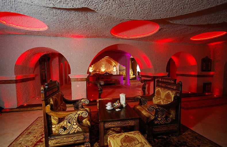 Underground Cave Home. gamirasu  hotel cave home underground green 1 000 Year Old Monk s Quarters Restored as Luxurious Cave Hotel
