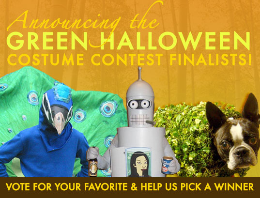 green halloween contest winners, Green Halloween Costumes, halloween costume ideas, Inhabitat Green Halloween Costume Contest, inhabitat halloween contest, sustainable halloween costumes
