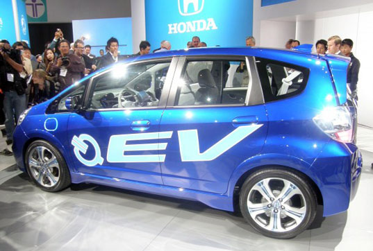 sustainable design, electric cars, electric vehicles, ev, honda, honda fit