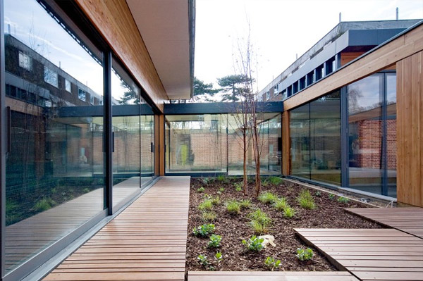 Richmond Park, threefold architects, geothermal energy, ladderstile house, architects, green architecture, eco architecture, sustainable architecture, green house,  eco house, beautiful house