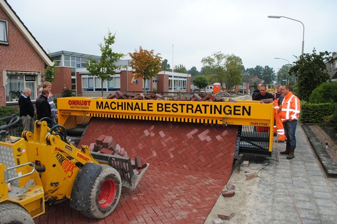 pavestones, brick road, green roads, hardscapes, green infrastructure,