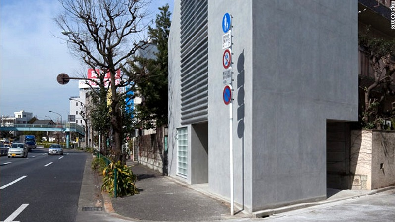 Tokyo Micro House Built on a Single Car Space Inhabitat Green