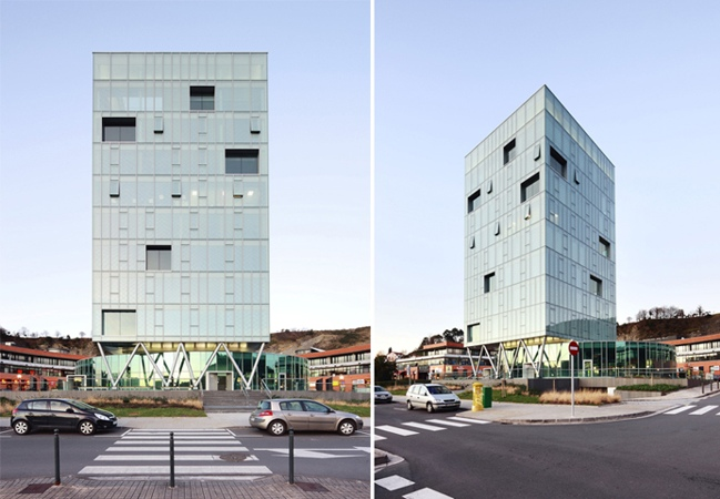 Spanish Highrise Keeps Its Cool Under a Double Skin | Inhabitat ...