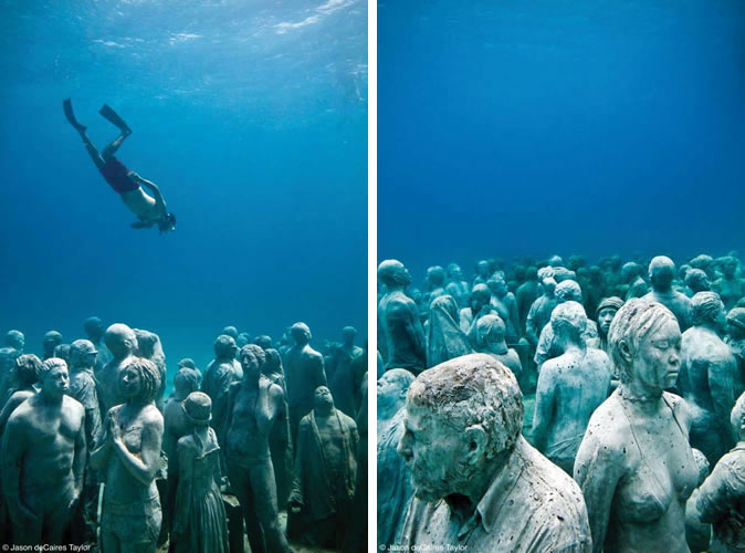 Artist Jason deCaires Taylor Builds an Incredible Coral ...