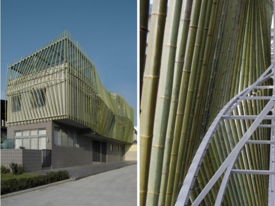 bamboo forest house, bamboo, natural ventilation, taiwan, roewu, green home, green building, sustainable architecture