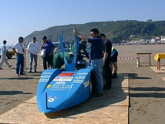 bluebird, electric land speed record, Electric Record Team, electric vehicle, land speed record, land speed record car, electric vehicle land speed record, uk electric land speed record