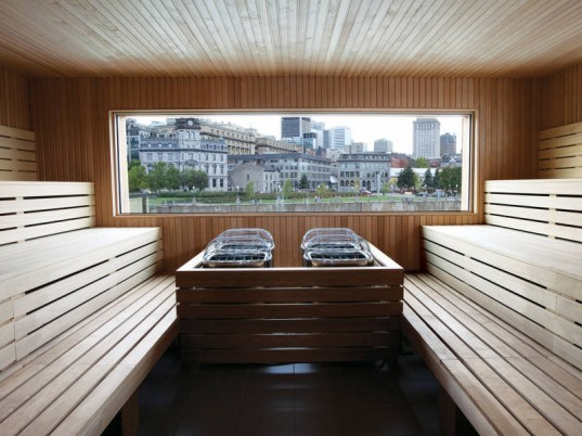 bota bota, green renovation, floating spa, montreal, sid lee, green design, sustainable architecture