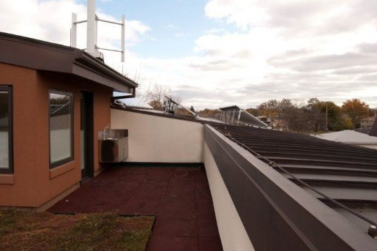 helenowski residence, green renovation, leed home, green roof, zero energy, chicago, green home, eco home