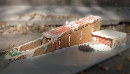 hometta, wedge house, eco gingerbread house, green building, eco design, gingerbread