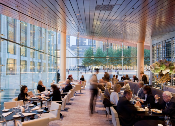 Hypar Pavilion Lincoln Center Diller Scofidio Renfro Green Roof Ristorante