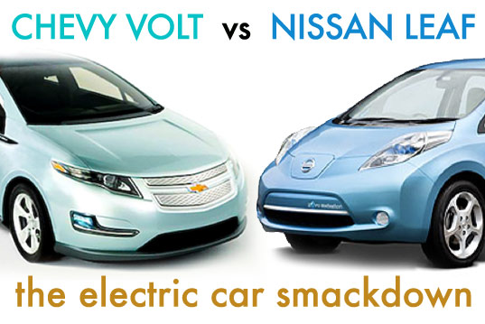 Electric Vehicle Smackdown Chevy Volt Vs Nissan Leaf