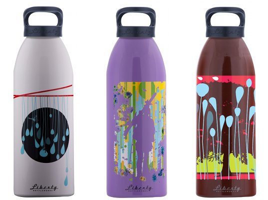 Usa made 100 recycled aluminum water bottles inhabitat for What can you make out of water bottles