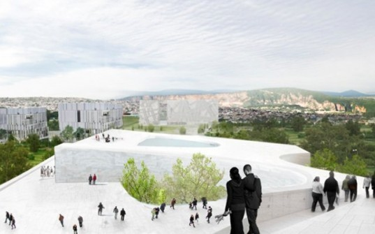 museum of environmental science, Snøhetta, university of guadalajara, sustainable architecture, green design