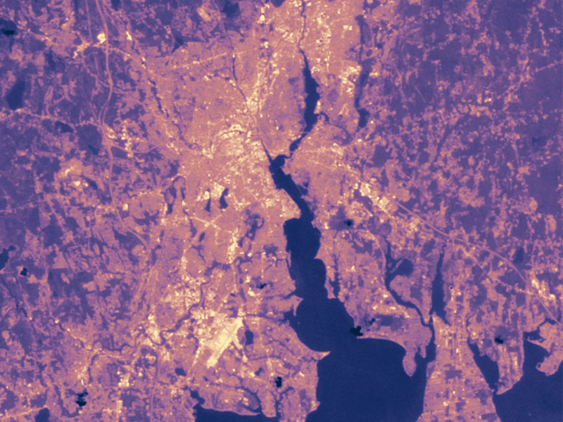 urban heat islands, heat islands, urban design, sustainable city planning, city planning, urban planning, sustainable urban planning, nasa sattelite photos, nasa heat island photos, northeast heat island