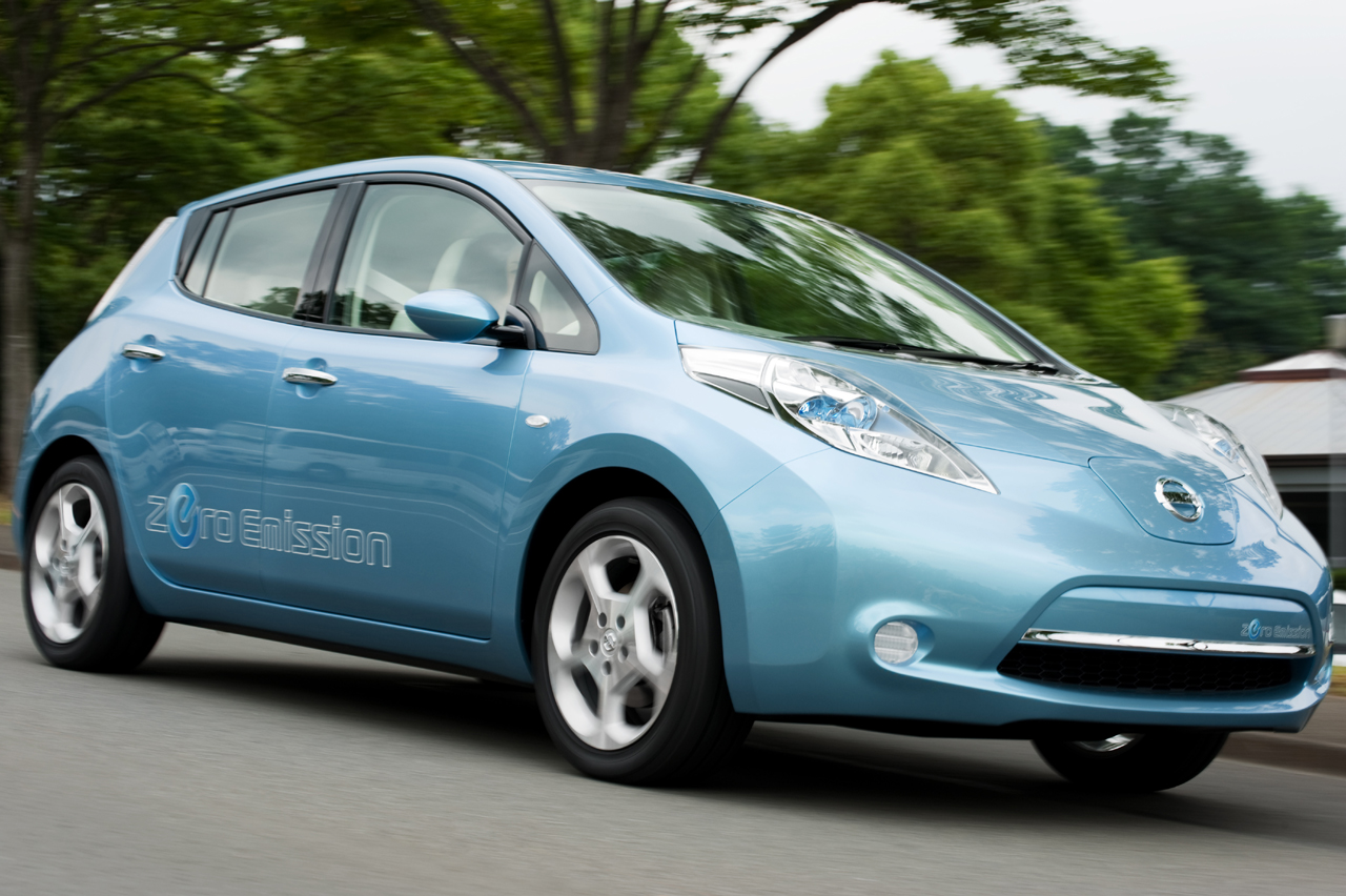 The Nissan Leaf Officially