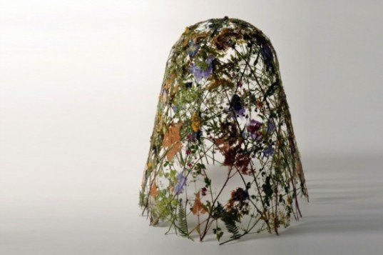 Pressed Flower Sculptures, eco art, eco sculpture, flowers, ignacio canales aracil, fragility of time