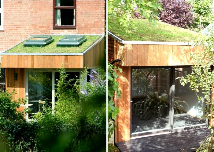 Green Roofed Roomworks Garden Offices Sprout in the UK Roomworks