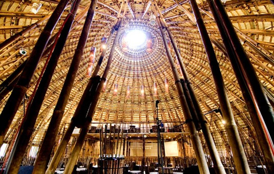 vo trong nghia, bamboo dome, bamboo architecture, eco architecture, green architecture, green design, bamboo building, eco building, sustainable building