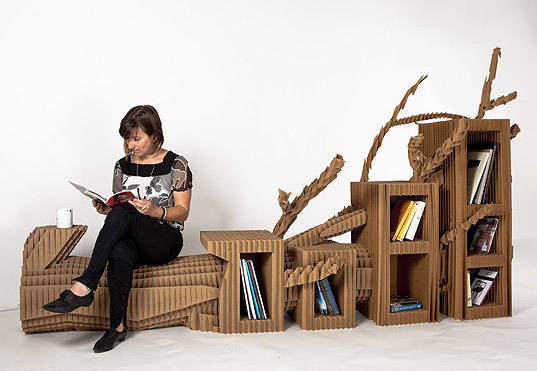 Exhibition Portable Flat Pack Furniture : Inhabitat green design innovation architecture