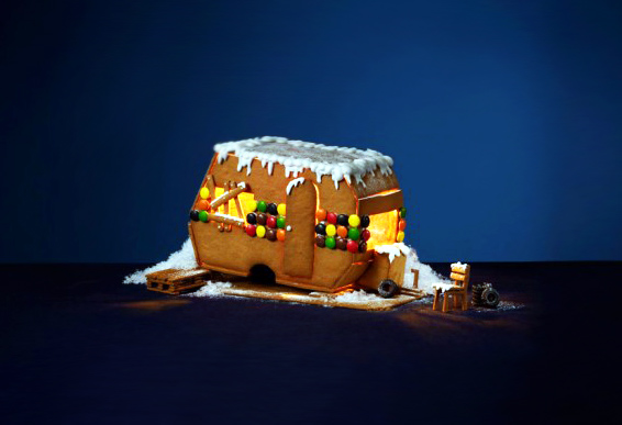 gingerbread house, holiday season, homelessness, Stockholm, Sweden, swedish museum of architecture, city welfare