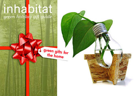 green holiday, green gift guide,