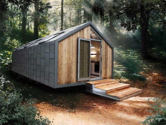 mobile home, hangar design group, 2010 expo, pircher oberland, micro house, green house, green design, eco design, sustainable design, small living, eco architecture
