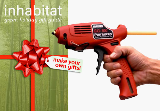 inhabitat green holiday gift guide, green gifts, eco gifts, last minute gifts, last minute green gifts, make your own gifts, sustainable gifts, gifts of time, green design, eco design