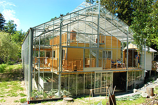 Naturhus An Entire House Wrapped In Its Own Private Greenhouse